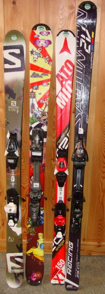 Skis Junior Noir 2015