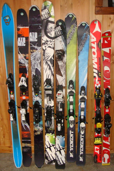 Skis Noirs 2015